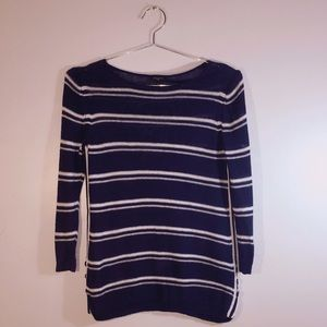 Talbots Light Knit Pullover. Nautical color-way SP
